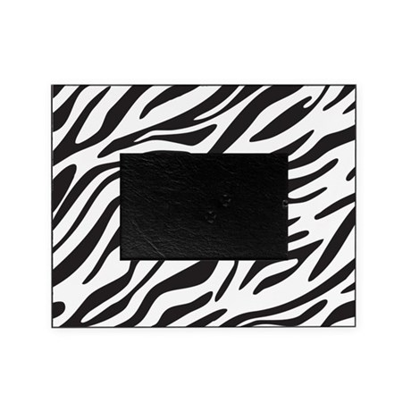 Zebra Print Picture Frame by designdivagifts2