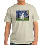 Starry-White German Shepherd Light T-Shirt