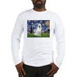 Starry-White German Shepherd Long Sleeve T-Shirt