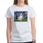 Starry-White German Shepherd Women's T-Shirt