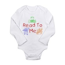 Unique Book me Long Sleeve Infant Bodysuit