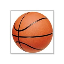"""basketball2.png Square Sticker 3"""" x 3"""""""