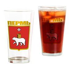 Perm COA Drinking Glass