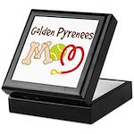 Golden Pyrenees Dog Mom Keepsake Box