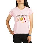 Golden Pyrenees Dog Mom Performance Dry T-Shirt