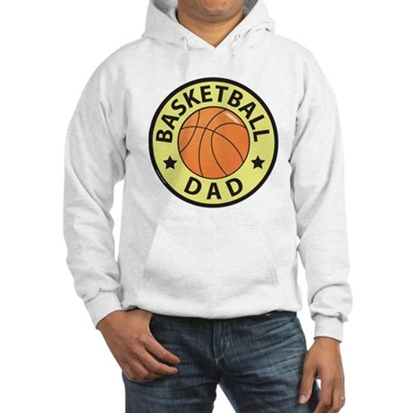 Basketball Dad Hooded Sweatshirt