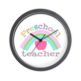 Preschool Teacher Wall Clock
