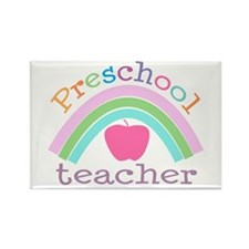 Preschool Teacher Rectangle Magnet (10 pack)