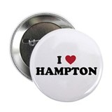 "I Love Hampton Virginia 2.25"" Button"