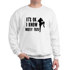 Muay Thai Designs Sweatshirt