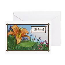 Tiger Lily Greeting Greeting Card