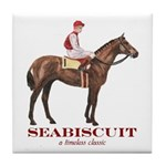 Seabiscuit Tile Coaster