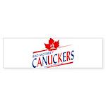 Canadian with Attitude Bumper Sticker