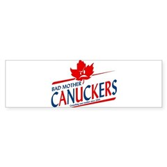 Canadian with Attitude Bumper Sticker