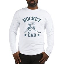 Hockey Dad Long Sleeve T-Shirt