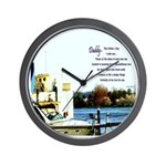 Father's Day Wish Wall Clock