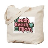 South Beach Miami Florida Tote Bag