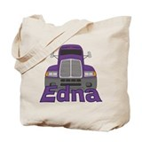 Trucker Edna Tote Bag