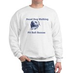 Smiling Pitbull Sweatshirt