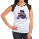 Trucker Emily Women's Cap Sleeve T-Shirt