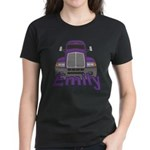 Trucker Emily Women's Dark T-Shirt