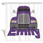 Trucker Emily Shower Curtain