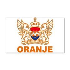 Netherlands World Cup Soccer Car Magnet 20 x 12
