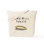 Halo Keeps Falling Off Tote Bag