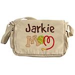 Jarkie Dog Mom Messenger Bag
