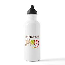 King Schnauzer Dog Mom Water Bottle