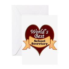 Funny Worlds greatest secretary Greeting Card