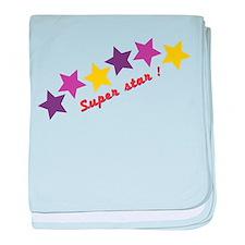 Super Star baby blanket