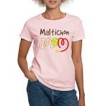 Maltichon Dog Mom Women's Light T-Shirt