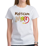 Maltichon Dog Mom Women's T-Shirt