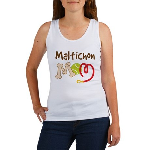 Maltichon Dog Mom Women's Tank Top