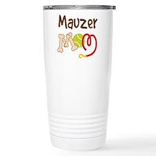 Mauzer Dog Mom Travel Mug