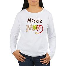 Morkie Dog Mom T-Shirt