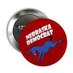 Nebraska Democrat Button