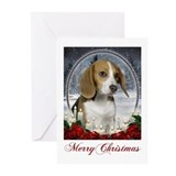 Christmas Beagle Cards (Pk of 10)