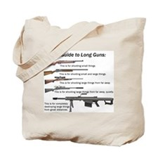 Guide to Long Guns Tote Bag