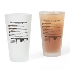 Guide to Long Guns Drinking Glass