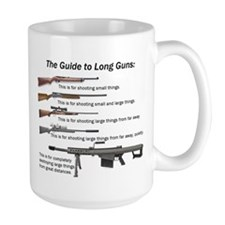 Guide to Long Guns Mug