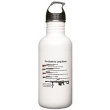 Guide to Long Guns Water Bottle