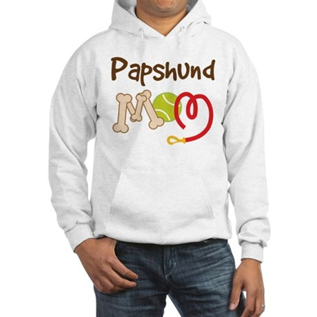 Papshund Dog Mom Hooded Sweatshirt