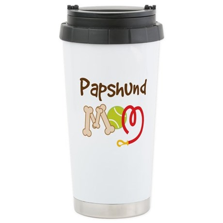 Papshund Dog Mom Ceramic Travel Mug