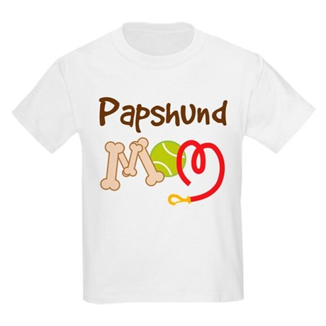 Papshund Dog Mom Kids Light T-Shirt