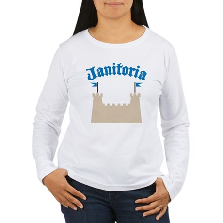 janitoria Women's Long Sleeve T-Shirt