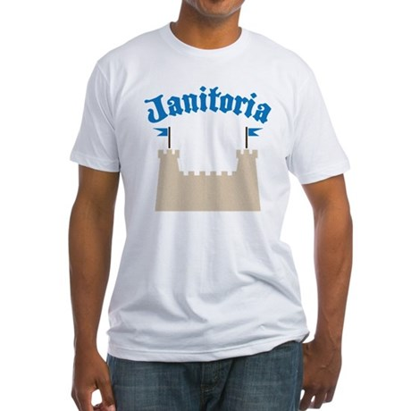 janitoria Fitted T-Shirt