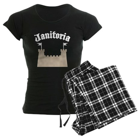janitoriadrk copy.png Women's Dark Pajamas