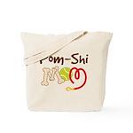 Pom-Shi Dog Mom Tote Bag